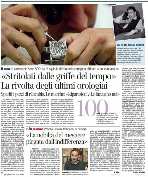 Cattura articolo corriere 29 giugno 2013
